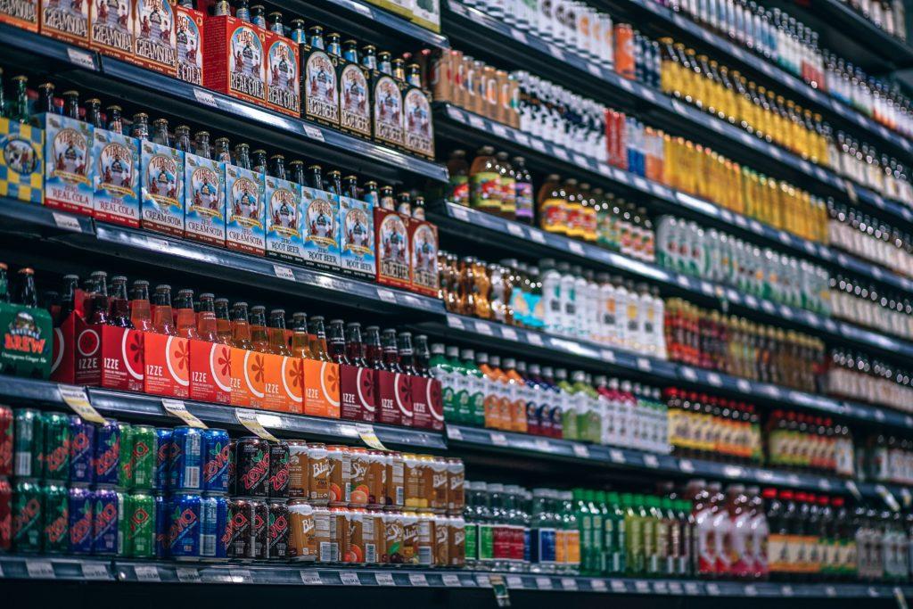 Geldverschwendung im Supermarkt